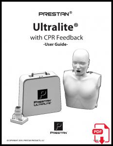 PRESTAN Ultralite Manikin Instruction Sheet